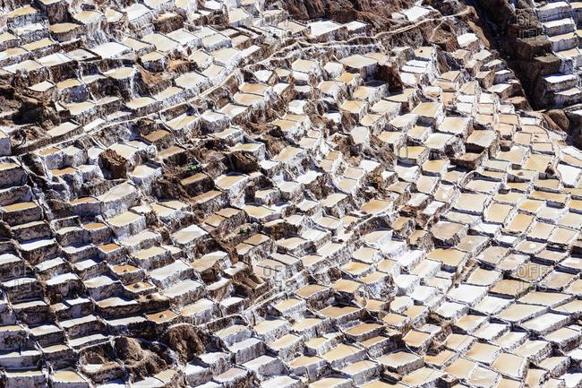 Peru- Andes- Maras- salt ponds