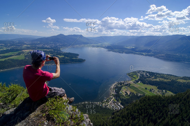Bastion Mountain Lookout, near Salmon Arm, British Columbia, Canada MR_001