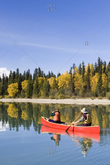 Bowron Lake Provincial Park, British Columbia, Canada