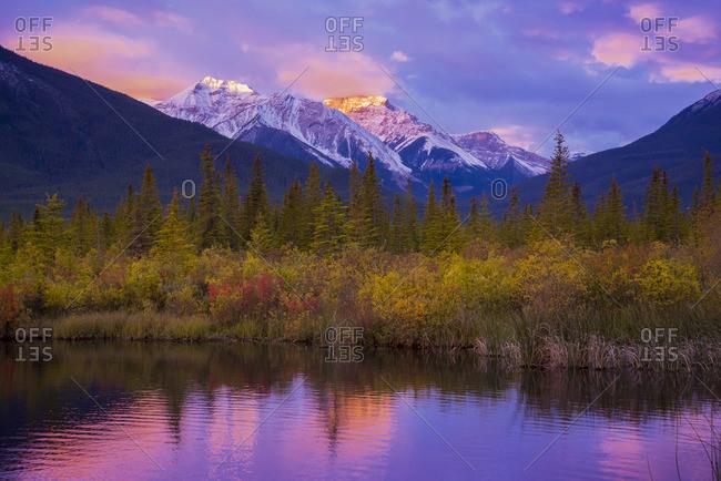 Vermilion Lakes, Banff National Park, Alberta, Canada