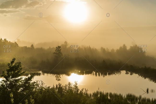 Dawn, Waterton Lakes National Park, Park, Alberta, Canada