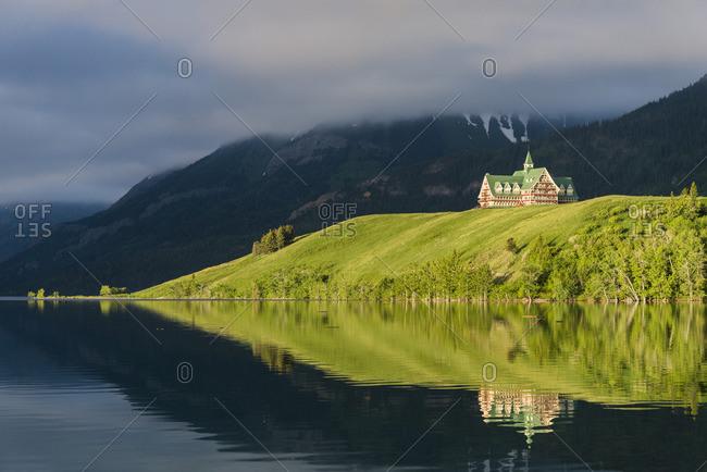 Prince of Wales Hotel, Waterton Lakes National Park, Park, Alberta, Canada