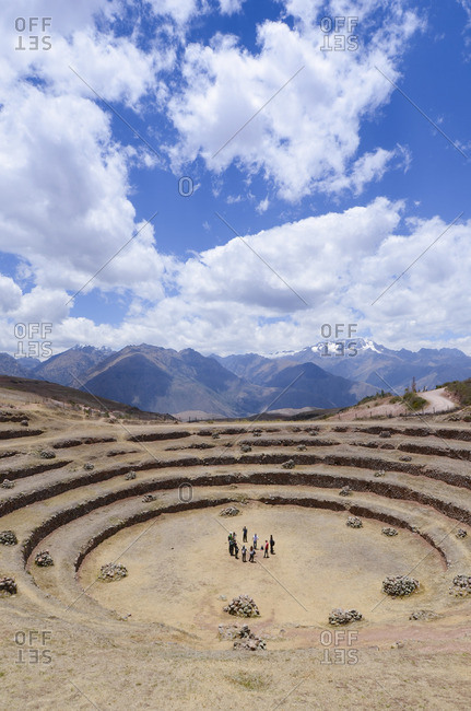 Moray, an archaeological site in Peru approximately 50�km northwest of Cuzco