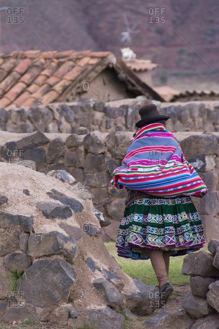 Peruvian village scenes
