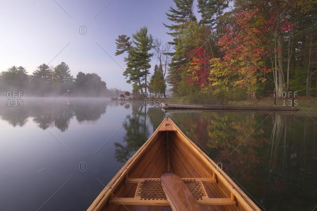 Fall Scenery in Muskoka, Ontario