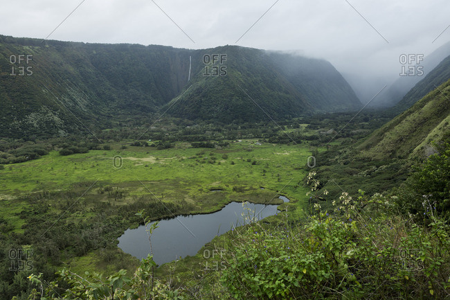 Waipi_o Valley, Big Island, Hawaii
