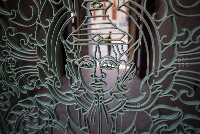 Wat preah keo morokat, silver pagoda or the temple of the emerald Buddha in  phnom penh, Cambodia