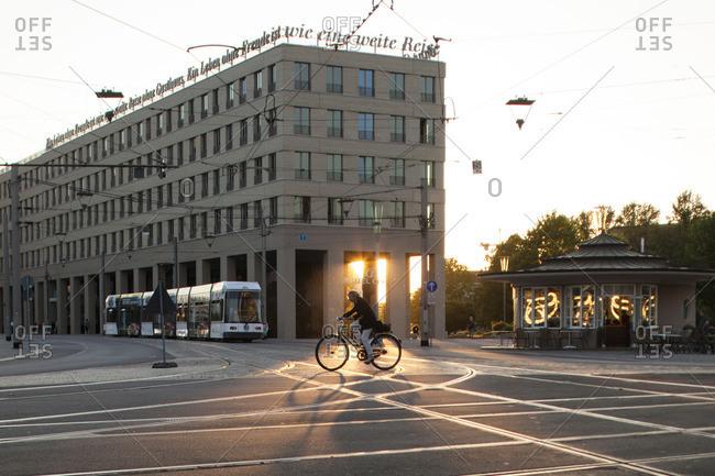 Dresden, Germany - October 2, 2015: Motel One' in Dresden