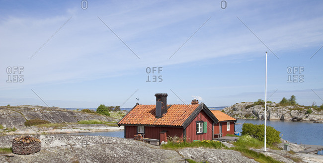 Cottage by sea
