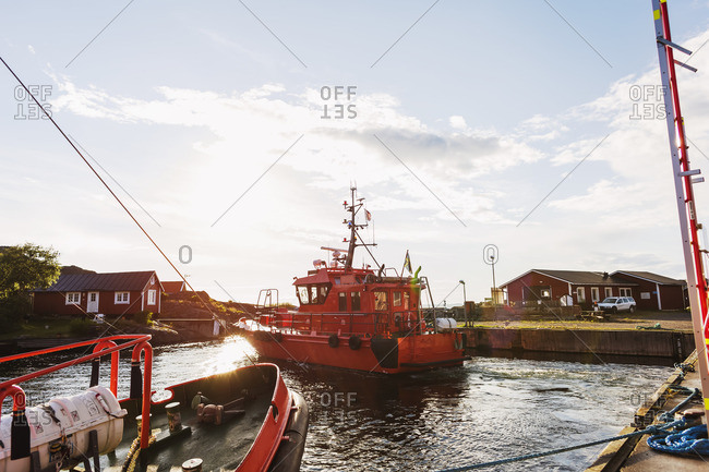 sea rescue on the way
