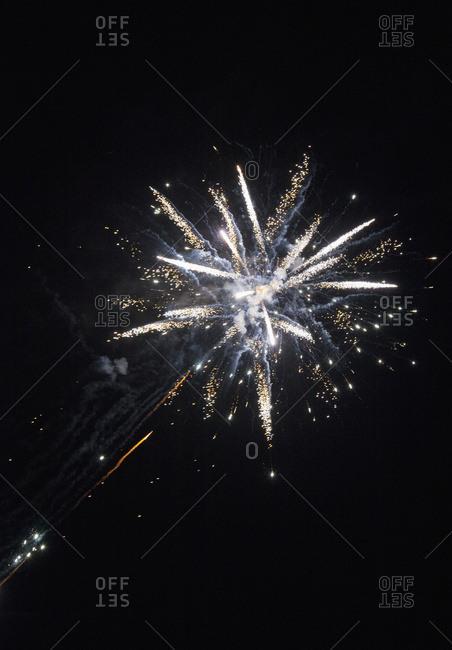 Fireworks; South Shields, Tyne And Wear, England