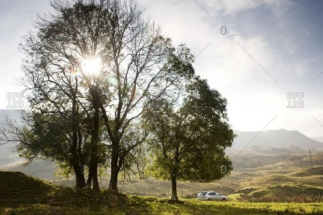 Landscape, Highlands, Scotland