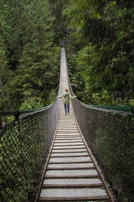 Lynn Canyon Suspension Bridge North Vancouver British Columbia Canada