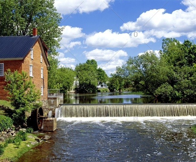 Missiquoi Museum, Cornell Mill, Eastern Townships, Quebec, Canada