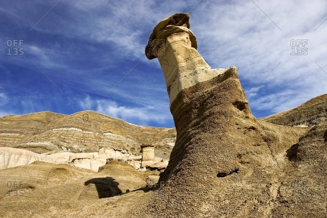 Natural Sandstone Towers, Drumheller, Alberta, Canada