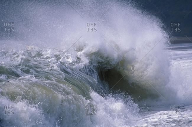 Rolling Waves, California, Usa