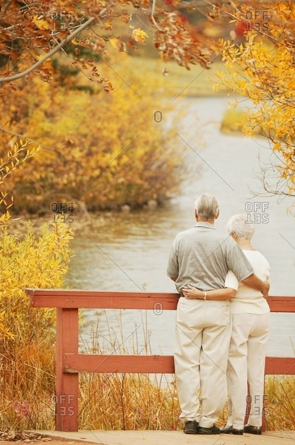 Couple Take In The Scenery