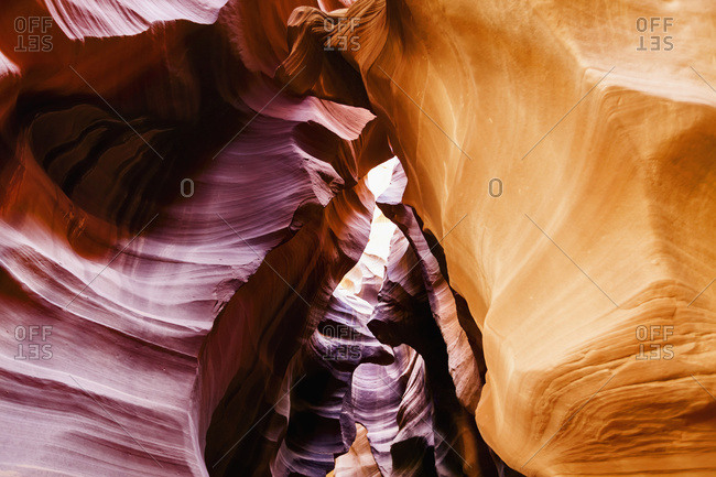 Upper Antelope Canyon, near Page; Arizona, United States of America