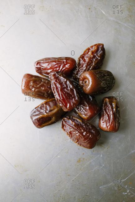 Close up of fresh dates