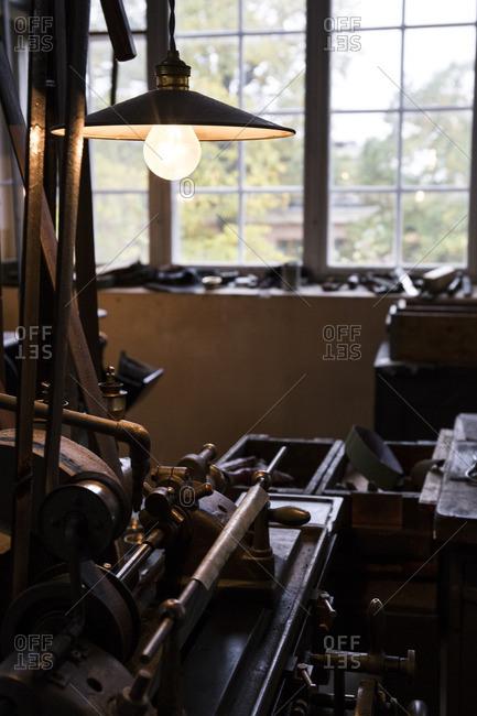 Old factory in Skansen, Stockholm, Sweden