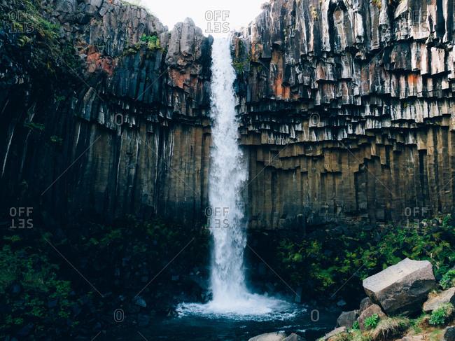 Svartifoss waterfall, Iceland - Offset Collection