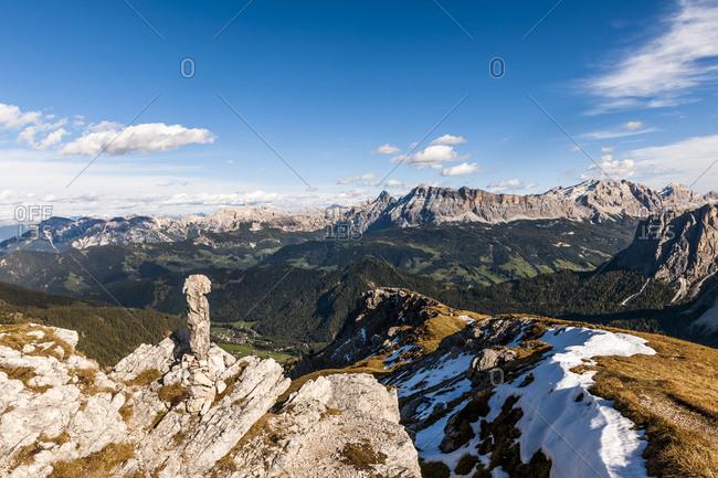 Italy- South Tyrol- Villnoess Valley- Kreuzkofel Group