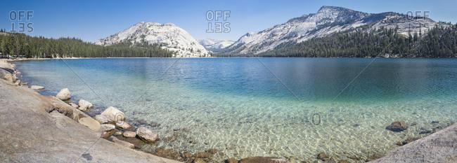 USA- California- Yosemite National Park- mountain lake