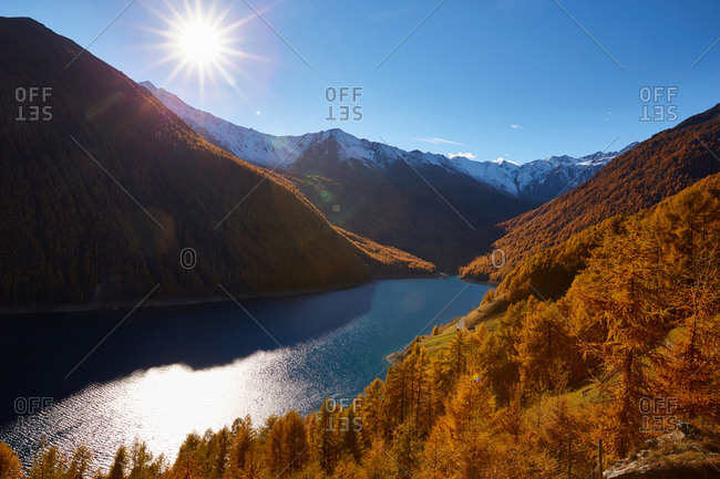 Scenic view, Schnalstal, South Tyrol, Italy