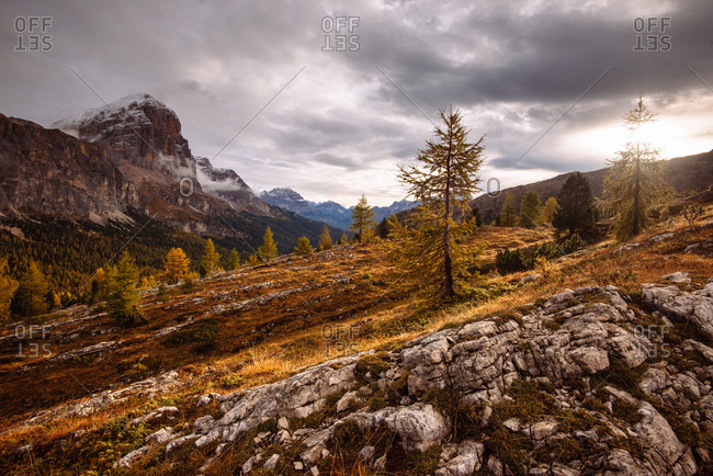 Mount Lagazuoi, Dolomite Alps, South Tyrol, Italy