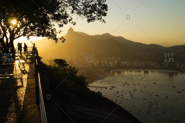 View of Rio de Janeiro from Sugarloaf Mountain, Rio de Janeiro, Brazil