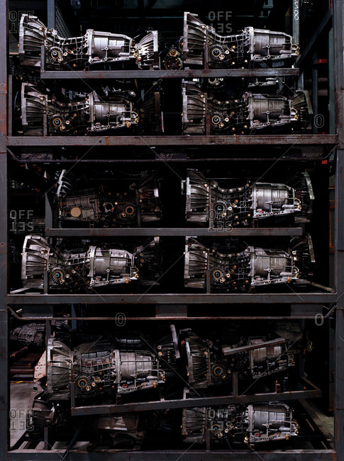 Engines on a shelf