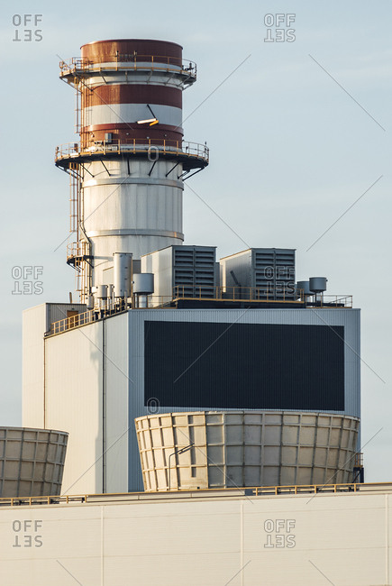 Thermical power plant in Sagunto, Spain