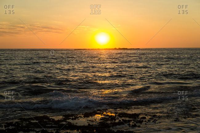 Sunrise at Coogee Beach in Sydney, Australia