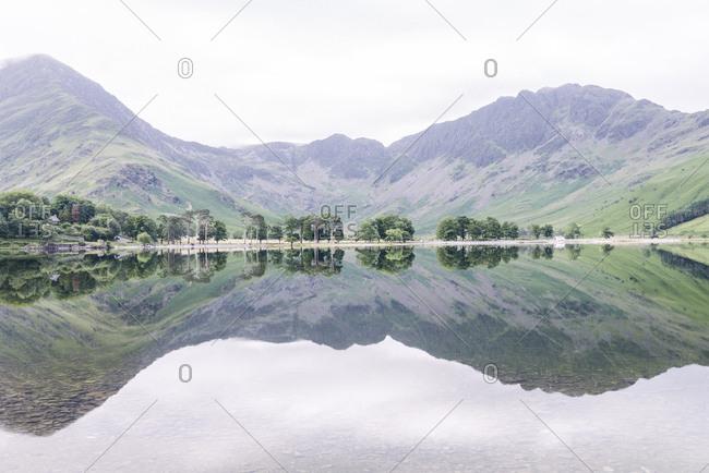 Still lake, Lake District, UK
