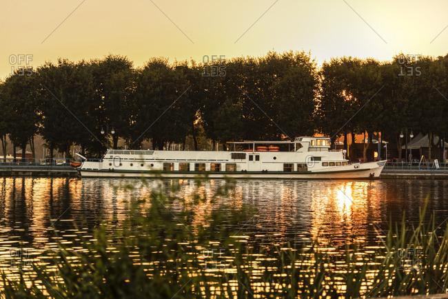 Poland- Masuria- Steam boat on Lake Niegocin