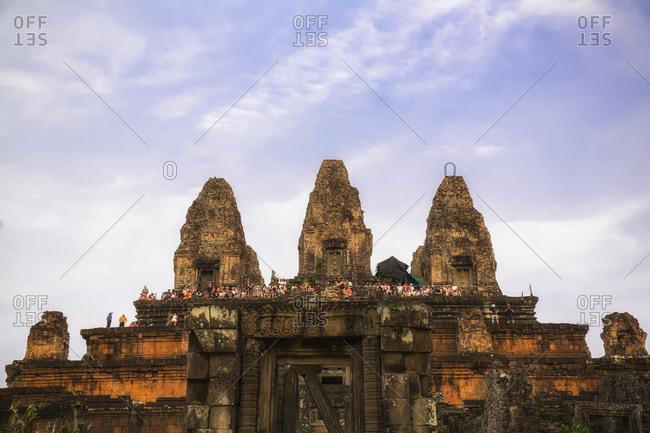 Cambodia, Angkor - March 2, 2016: Ankor Wat- Pre Rup temple