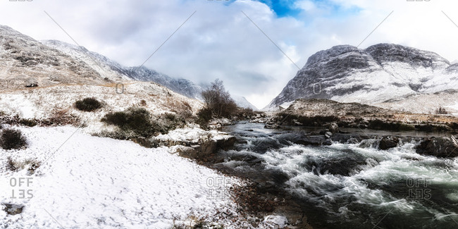 UK- Scotland- Glen Etive- River Etive