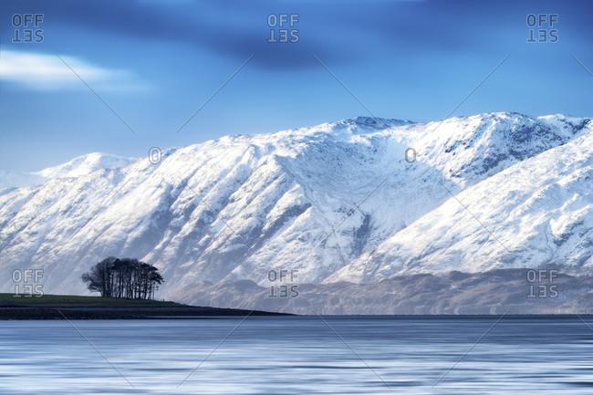 UK- Scotland- Loch Linnhe - Offset