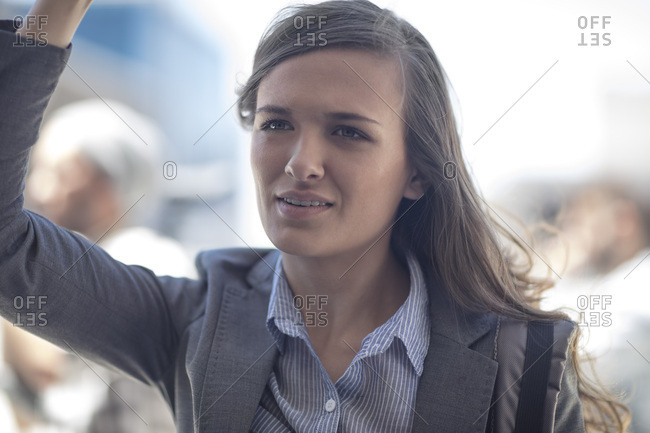Portrait of a young businesswoman