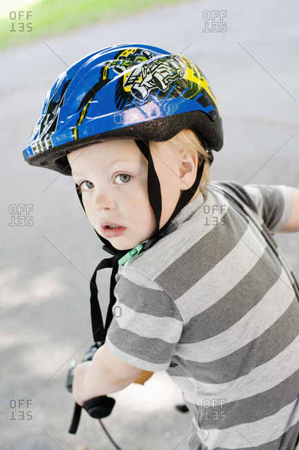 Boy on bicycle - Offset Collection
