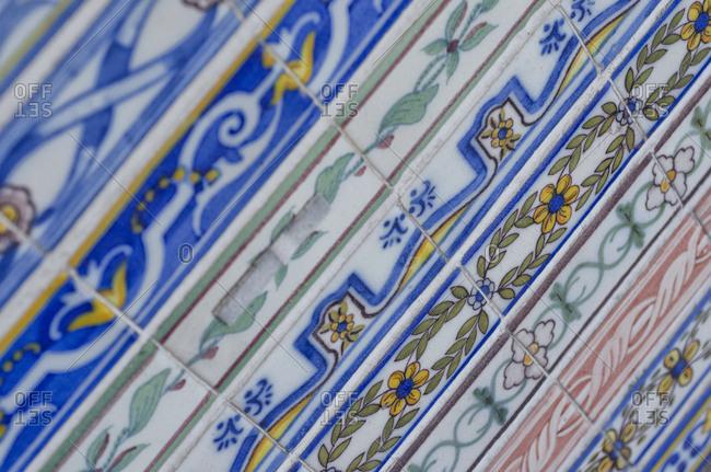Various tile trim patterns