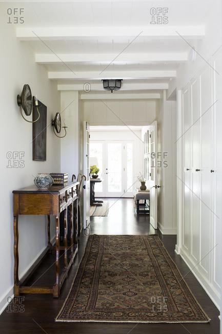 Los Angeles, California home entryway