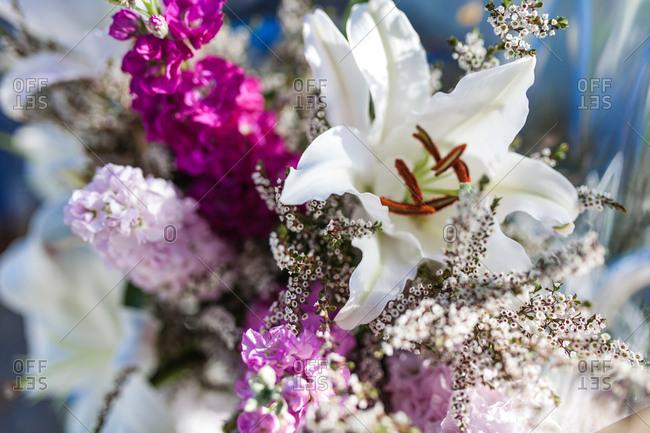 Close-up of a flower bouquet