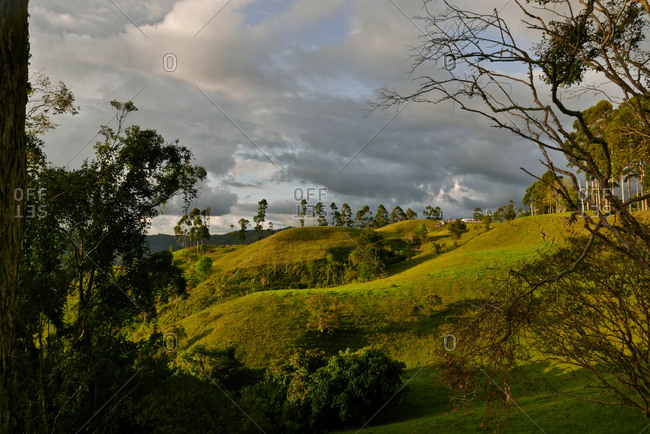 Landscape of Colombia.