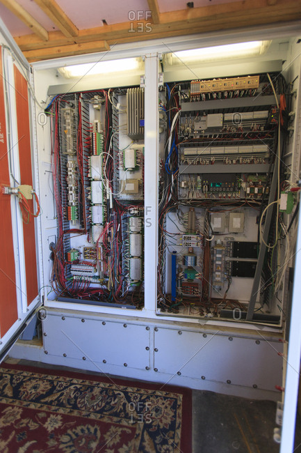 Computerized control systems for electricity cogeneration plant