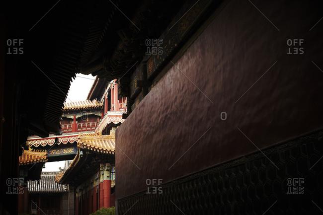 Yonghegong Temple, Beijing, China - Offset