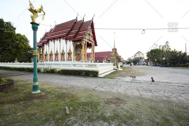 Chaithararam Temple - Wat Chalong in Phuket, Thailand