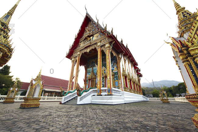 Chaithararam Temple in Phuket, Thailand