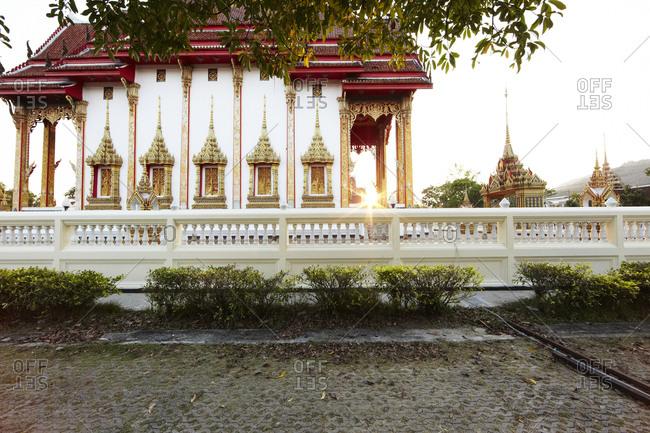 Wat Chalong in Phuket, Thailand