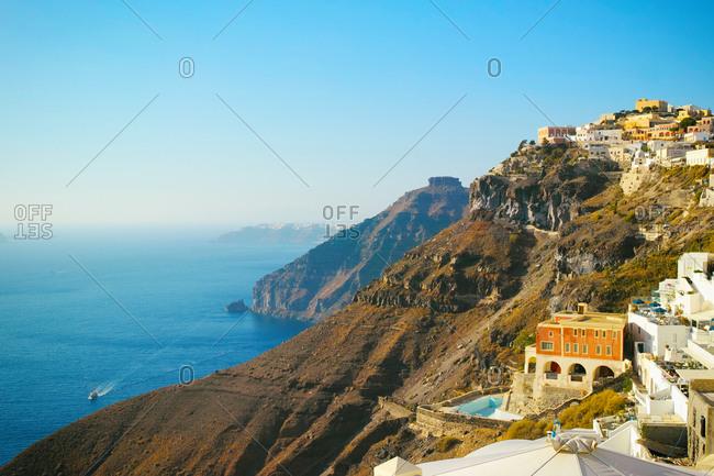 Santorini Island view from imerovigli